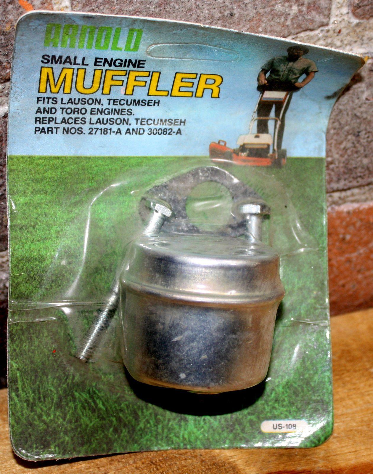 Vintage NOS Tecumseh Muffler P#27181B