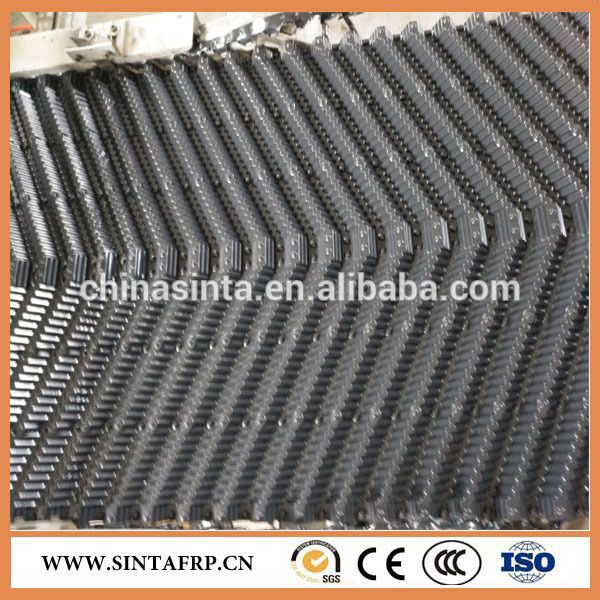 Black Color 1200 300 Pvc Fills For Cooling Tower With Images