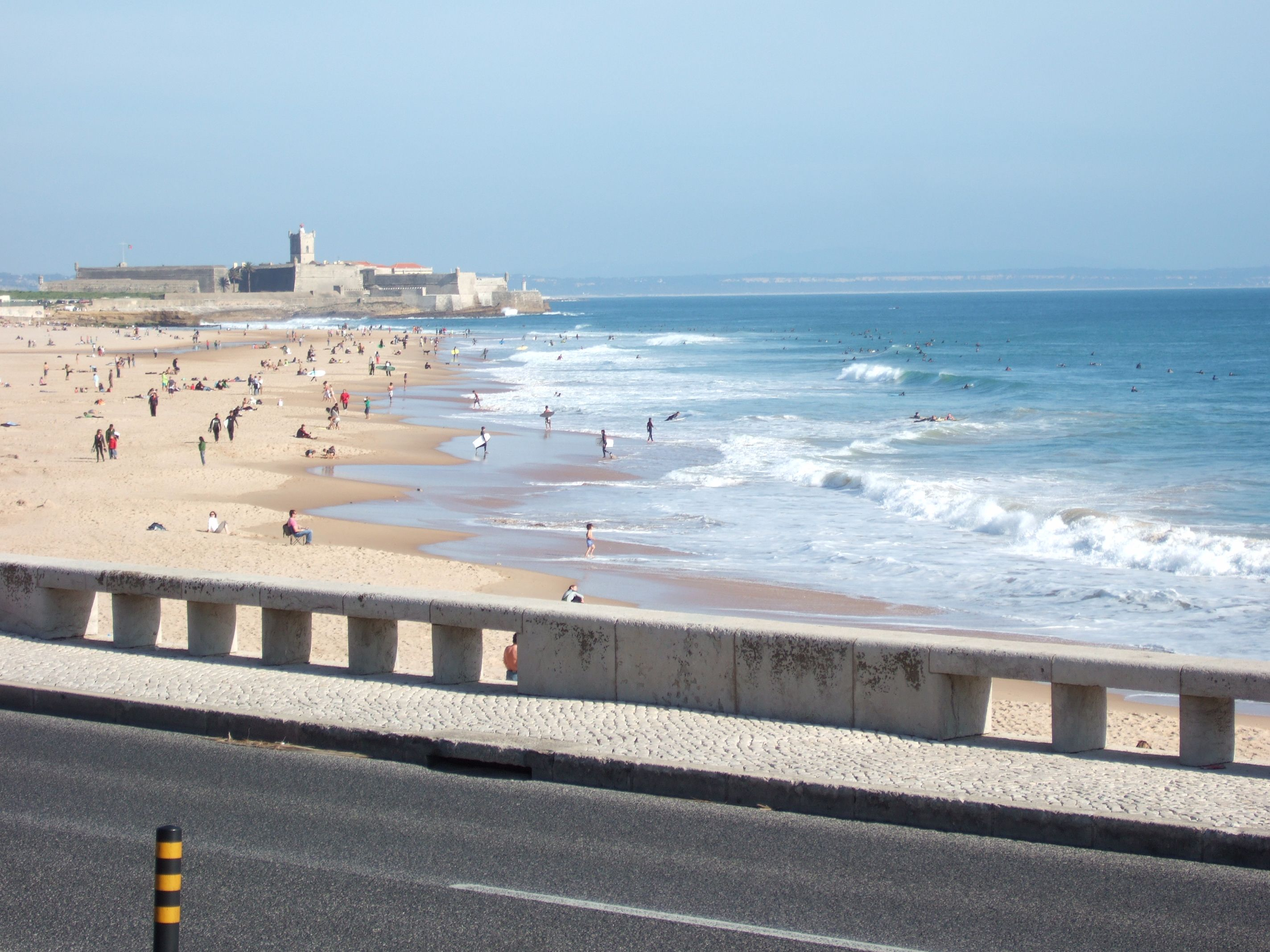 Praia de Carcavelos, Portugal.   Praias