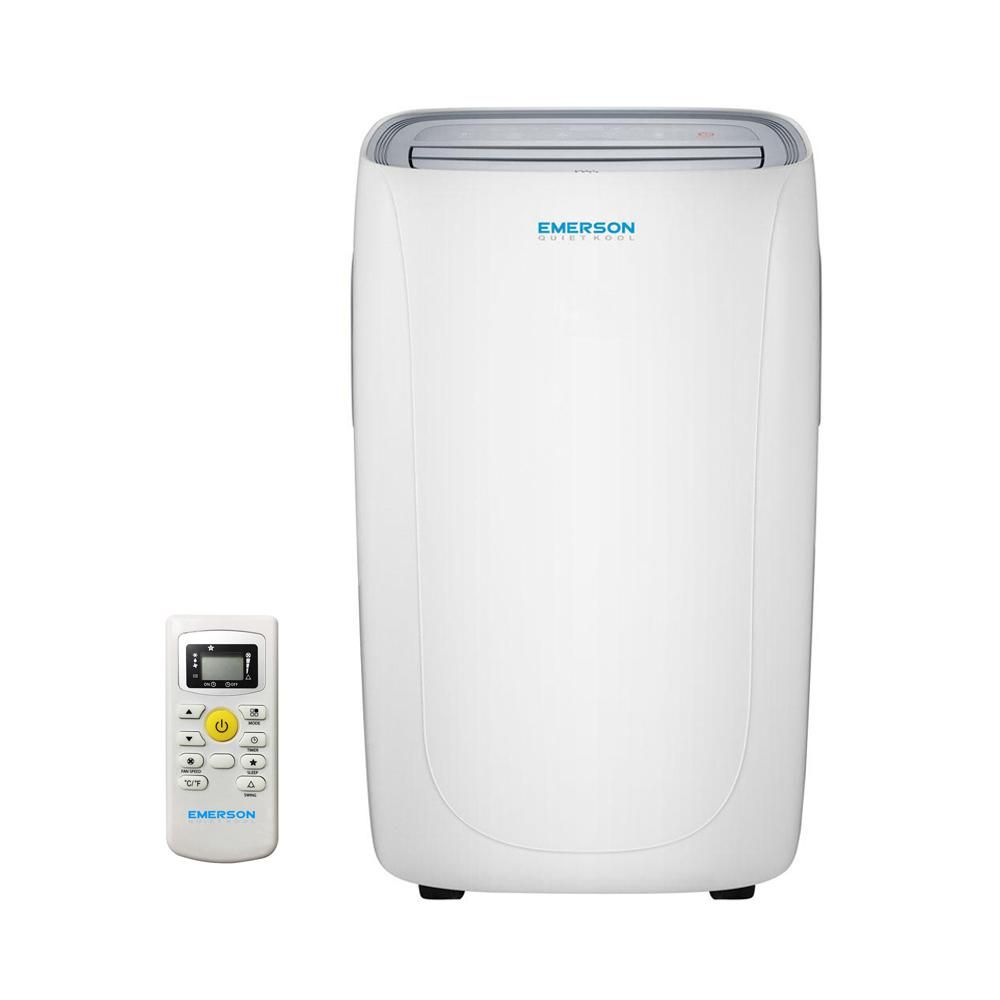 Emerson Quiet Kool 14 000 Btu Portable Air Conditioner With Dehumidifier And Remote Eapc14rd1 Dehumidifiers Emerson Window Air Conditioner