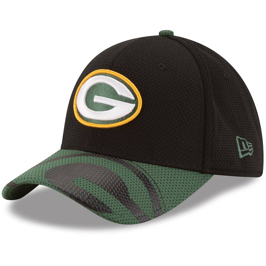 Youth New Era Green Bay Packers Black Green Chrome Tech 39thirty Flex Hat Your Price 24 99 Green Bay Packers Green Bay New Era