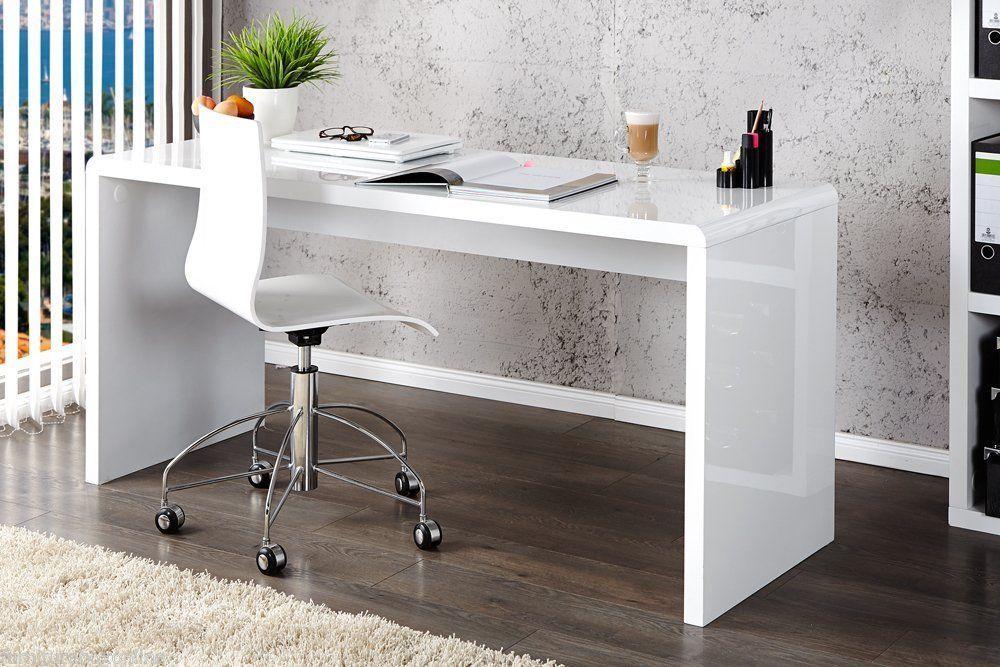 New Enzo White High Gloss Computer Home Executive Study Office Workstation Desk Ebay White Desk Glass White Desk With Glass Top Corner Desk Office