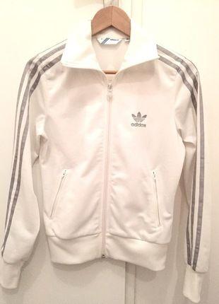 veste adidas blanche