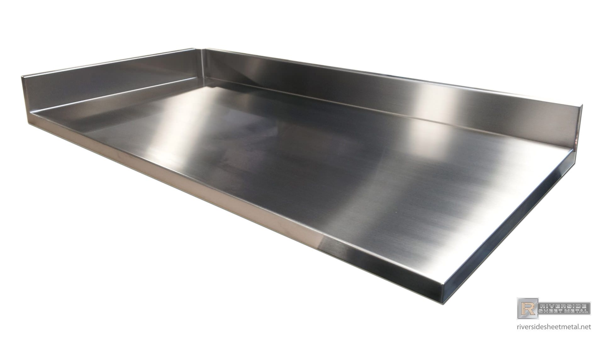 Custom Stainless Steel Number 4 Finish Counter Top With