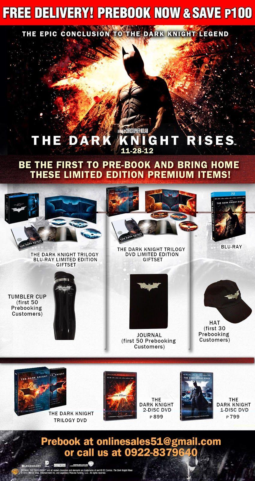 The Dark Knight Rises Blu Ray Details The Dark Knight Rises The