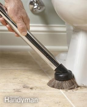 Tricks For Cleaning A Bathroom Faster And Better Household - Supplies to clean bathroom