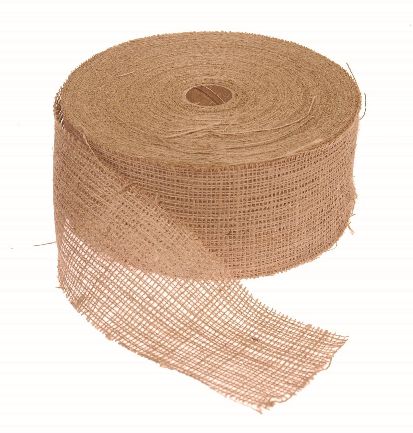 Amazing Burlap Deal 300 Foot Roll I Use For Crafting Only Ten Dollars Burlap Ribbon Burlap Rolls Burlap Trees