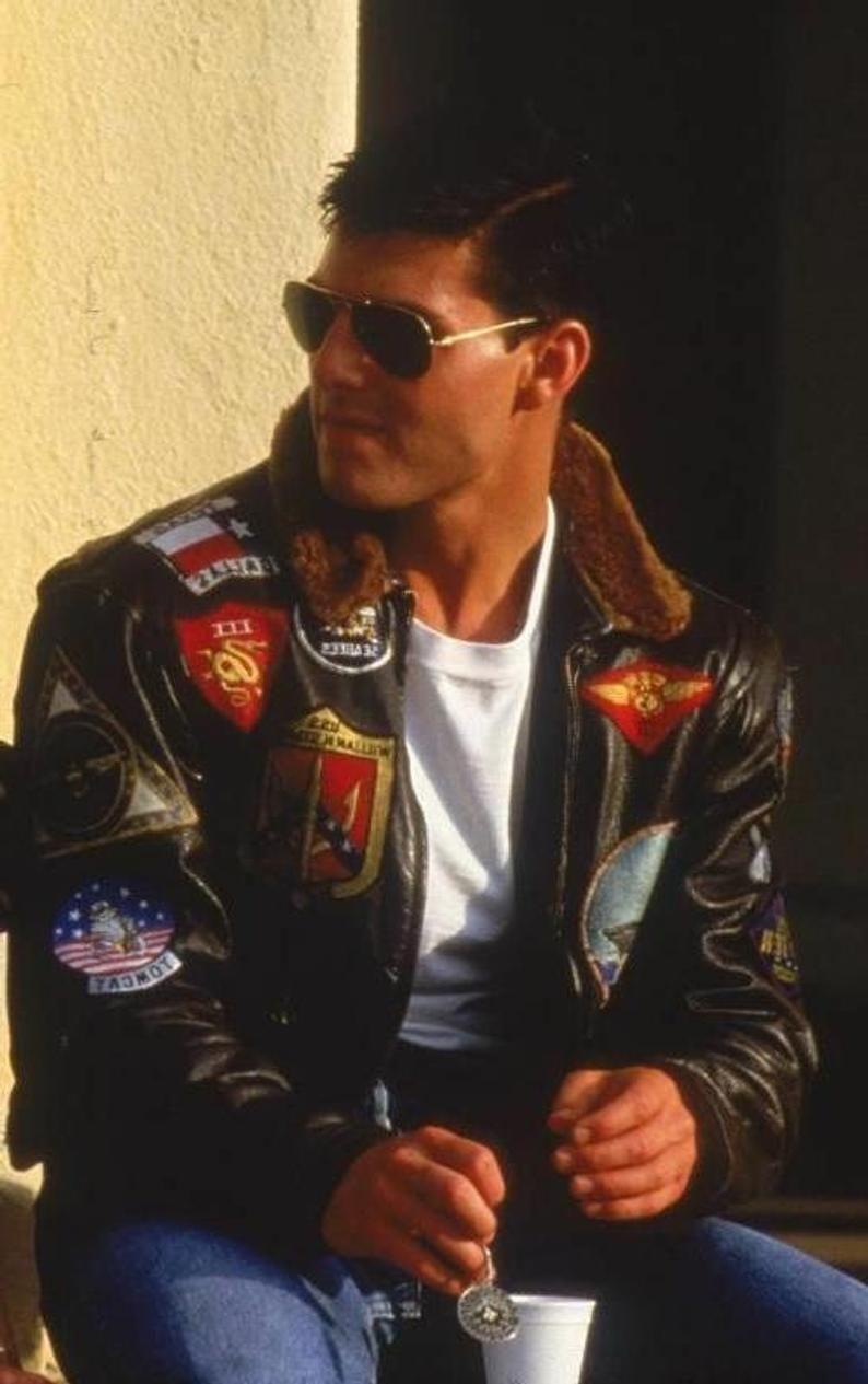 Pin On Tom Cruise Top Gun [ 1265 x 794 Pixel ]