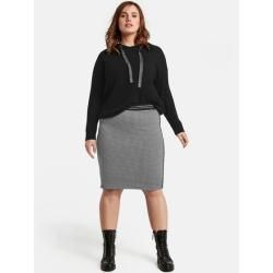 Photo of Samoon skirt with check pattern Black patterned ladies Gerry Weber