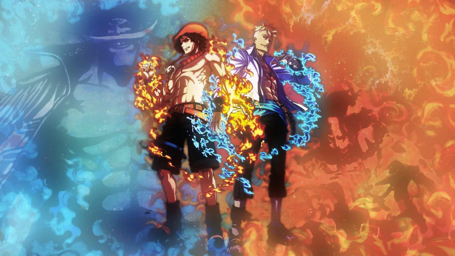 One Piece Ace Wallpapers Mobile » Cinema Wallpaper 1080p