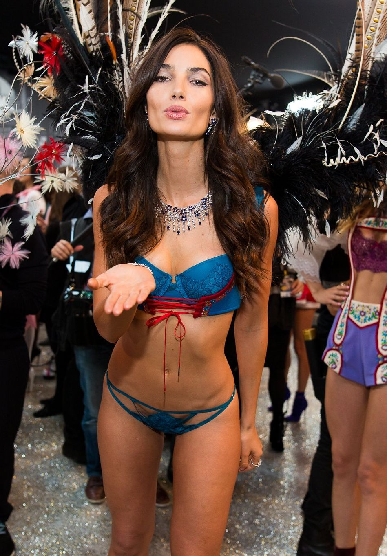 ba0c3864b8 Here s your look inside the Victoria s Secret fashion show in Paris.