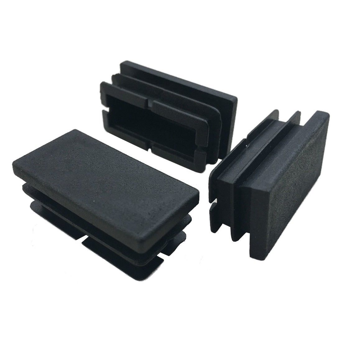 1 32 Aud 8 Pcs Black Plastic Rectangular Blanking End Caps Inserts 20mm X 40mm X3z8 O2k1 Eba Furniture Accessories Cool Things To Buy Rectangular