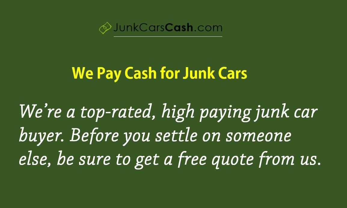 Cash #For #Junk #Cars program buys unwanted vehicles so that the ...