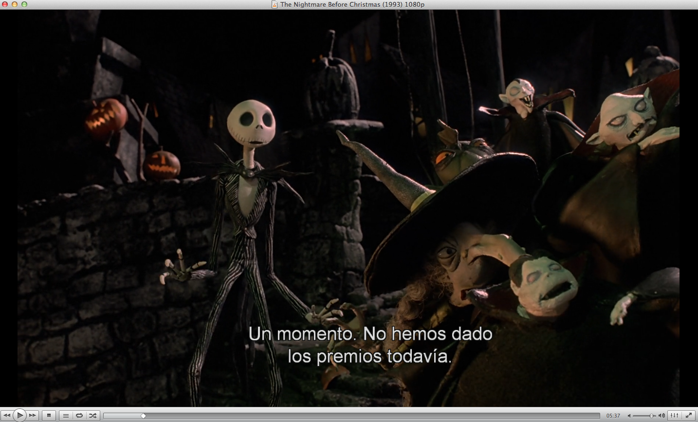 Captura 1 | The Nightmare Before Christmas (1993) 1080p | Pinterest