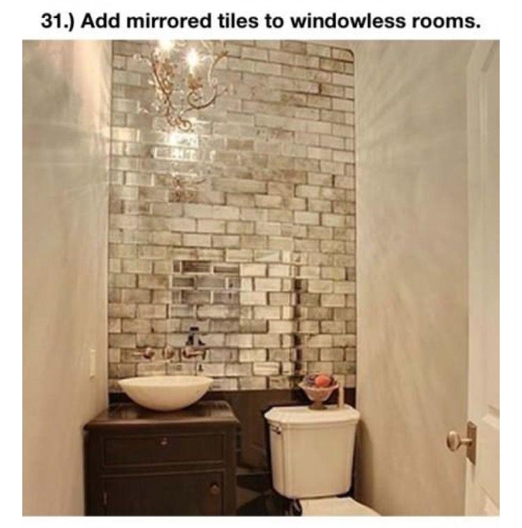Reutilizando Espejos Decoraciones De Casa Peque 241 O Aseo