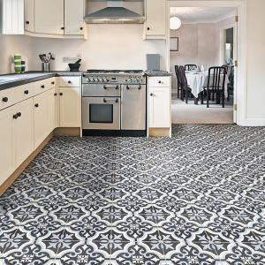 merola tile braga blue encaustic 7 3 4 in x 7 3 4 in ceramic floor rh pinterest com