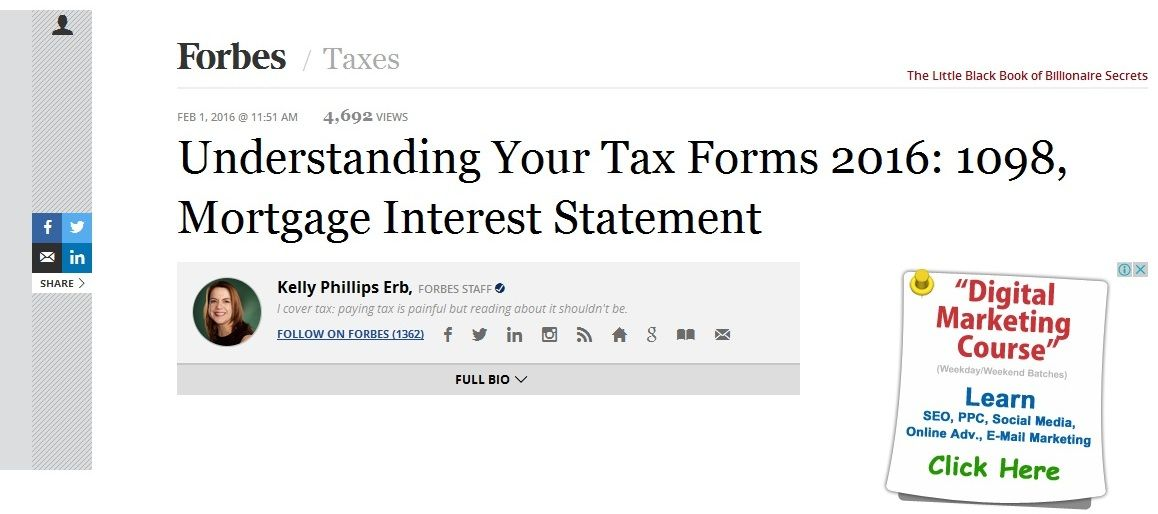 Check out what you should know about USA\u0027s Form 1098,Mortgage - statement form