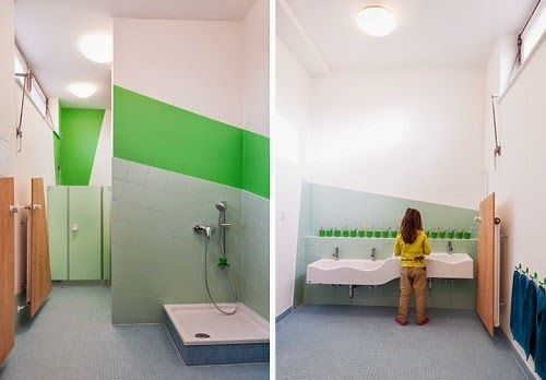 Elementary School Bathroom Design the architecture of early childhood | kindergarten | pinterest