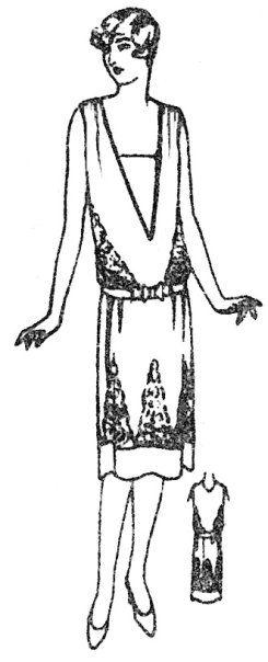 Schnittmuster kleid 20er jahre
