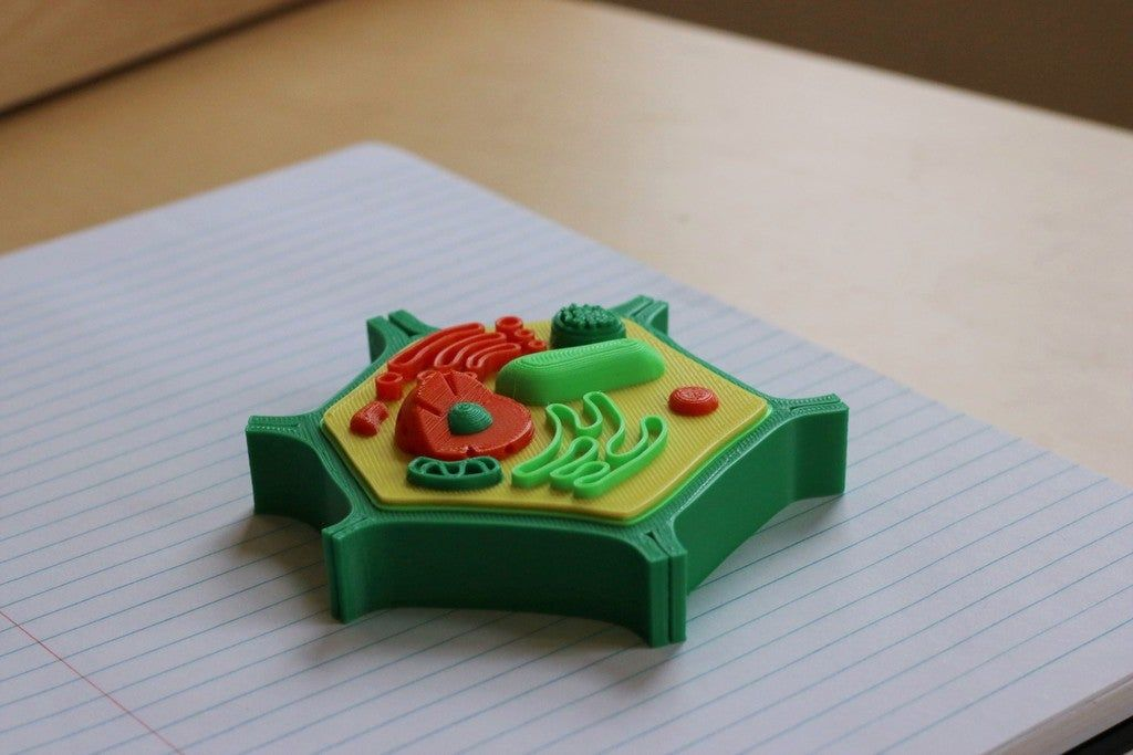 Multi-Color Mini Plant Cell by MosaicManufacturing ...