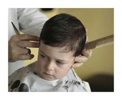 Corte de cabello ninos con tijera