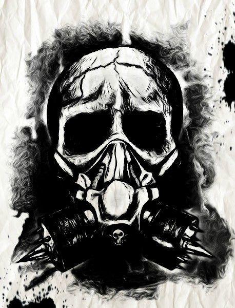 Pin On Gas Mask