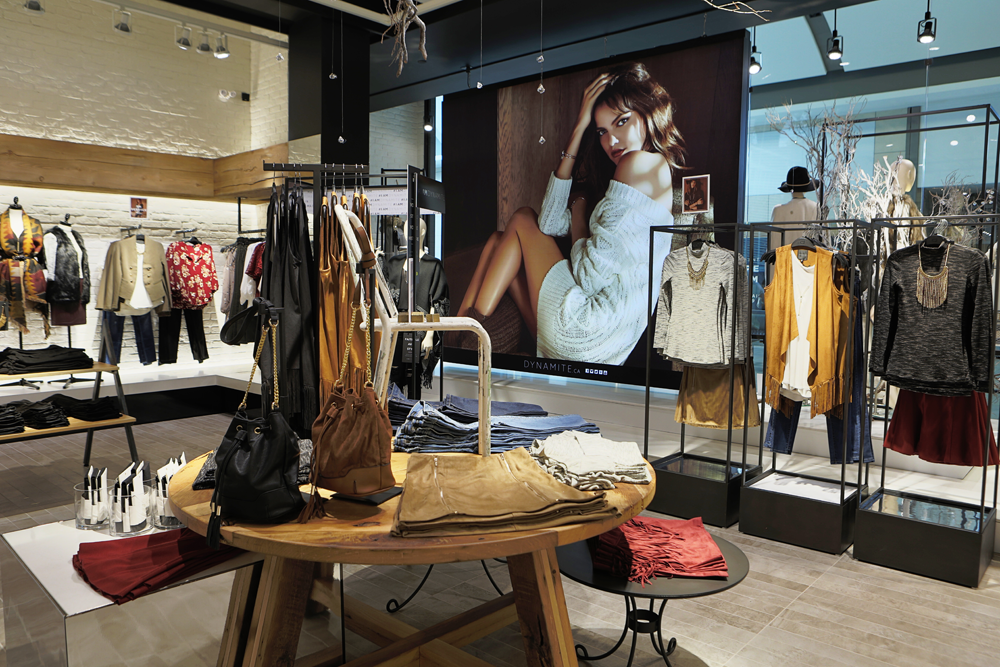 New Store New Look Dynblog Dynamite Style Retail Design New Look Style