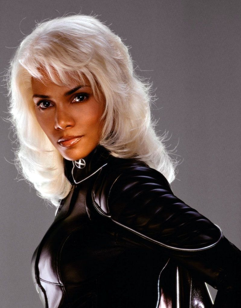 Storm W Long Hair Halle Berry Storm Baddie Hairstyles Halle Berry