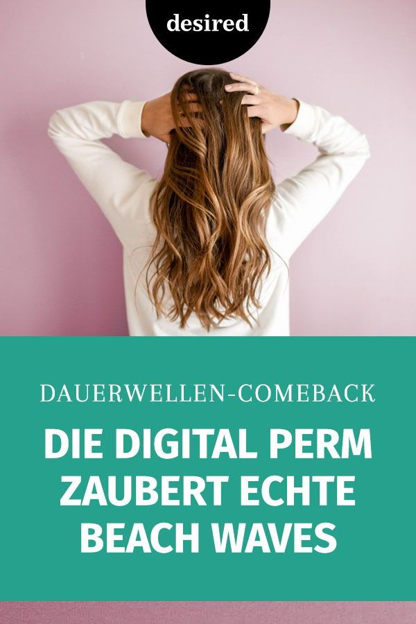 Photo of Digital Perm: The perm is so stylish 2019 | desired.de
