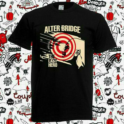 New Rare Alter Bridge The Last Hero 2019 Logo T Shirt S 5xl