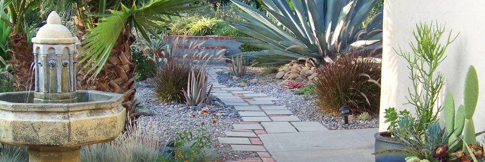Xeriscape Water saving landscape design Landscape Design Ideas