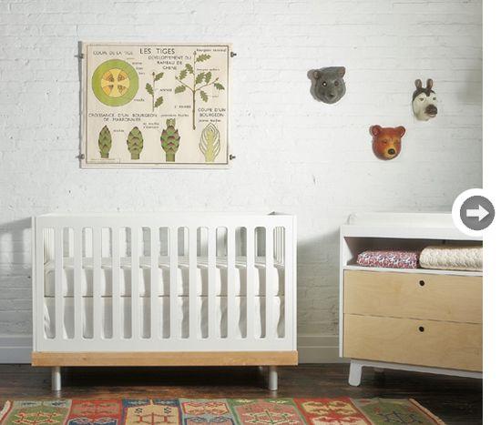 No todos los cuartos de bebes tienen que ser cursis e iguales For