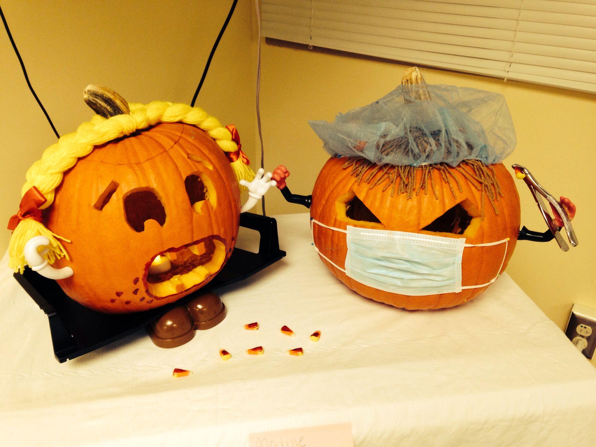 Dental pumpkins dental pumpkin pumpkin decorating