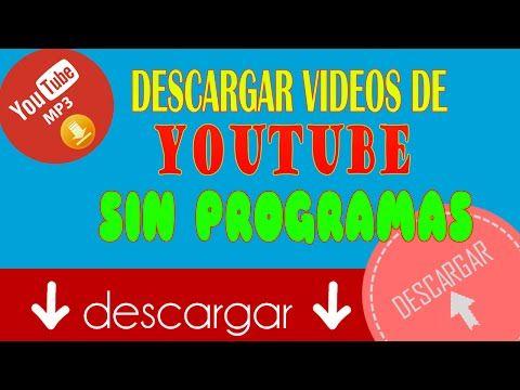 descargar videos y audios de youtube
