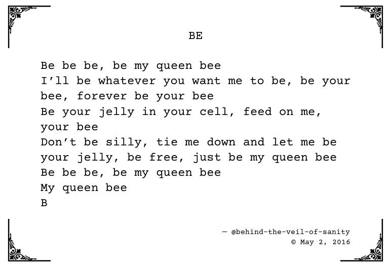 You are my queen poem