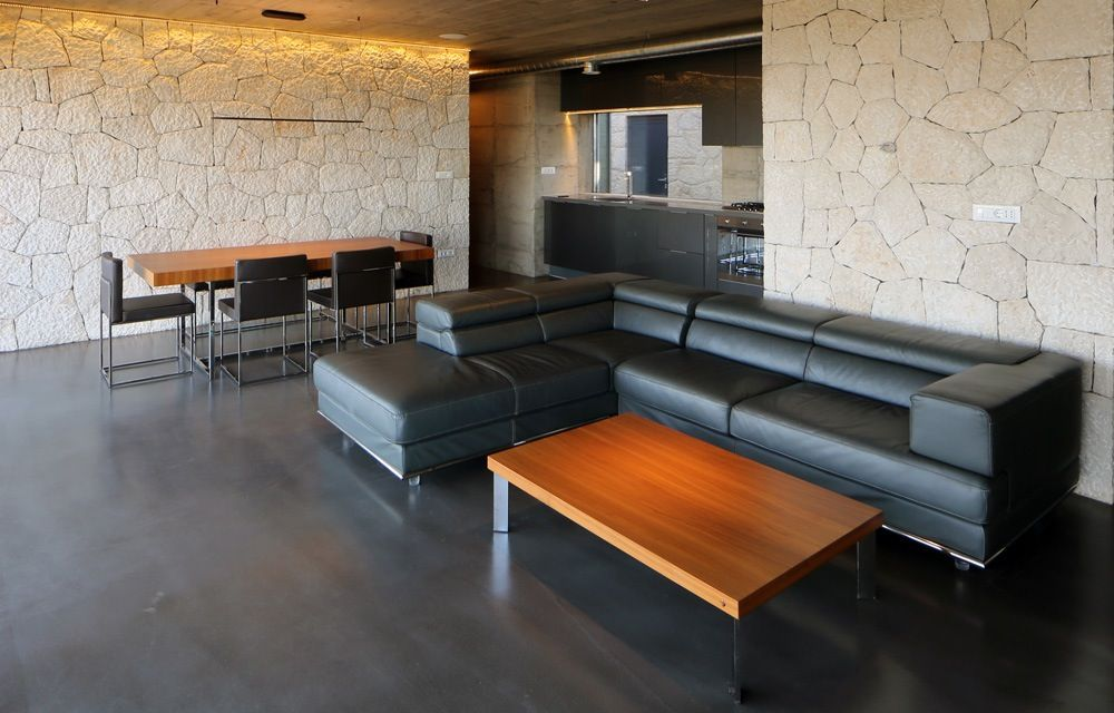 Polyurethaan vloer betonlook design floors epoxy and seamless