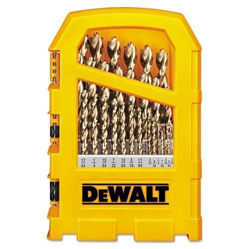 Pilot Point Dwalt Drill New Titanium64 Cobalt Bits
