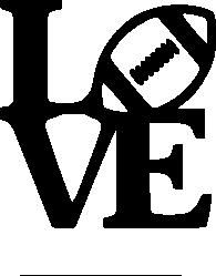 "Download Crafting with Meek: ""Love"" Football SVG   Cricut, Cricut ..."