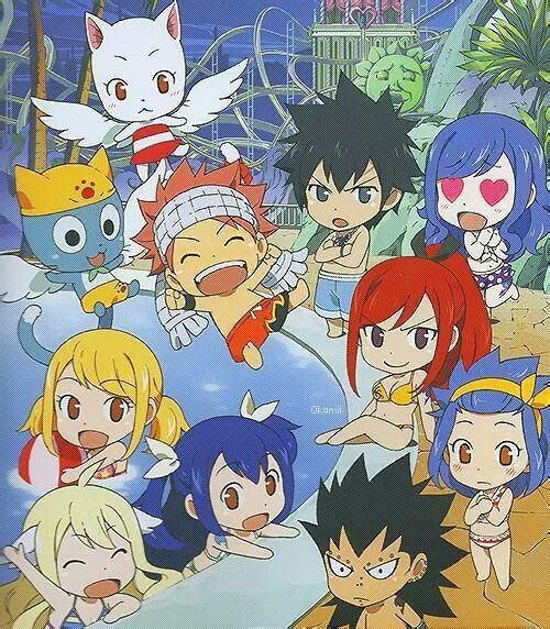 Fairy Tail pool party