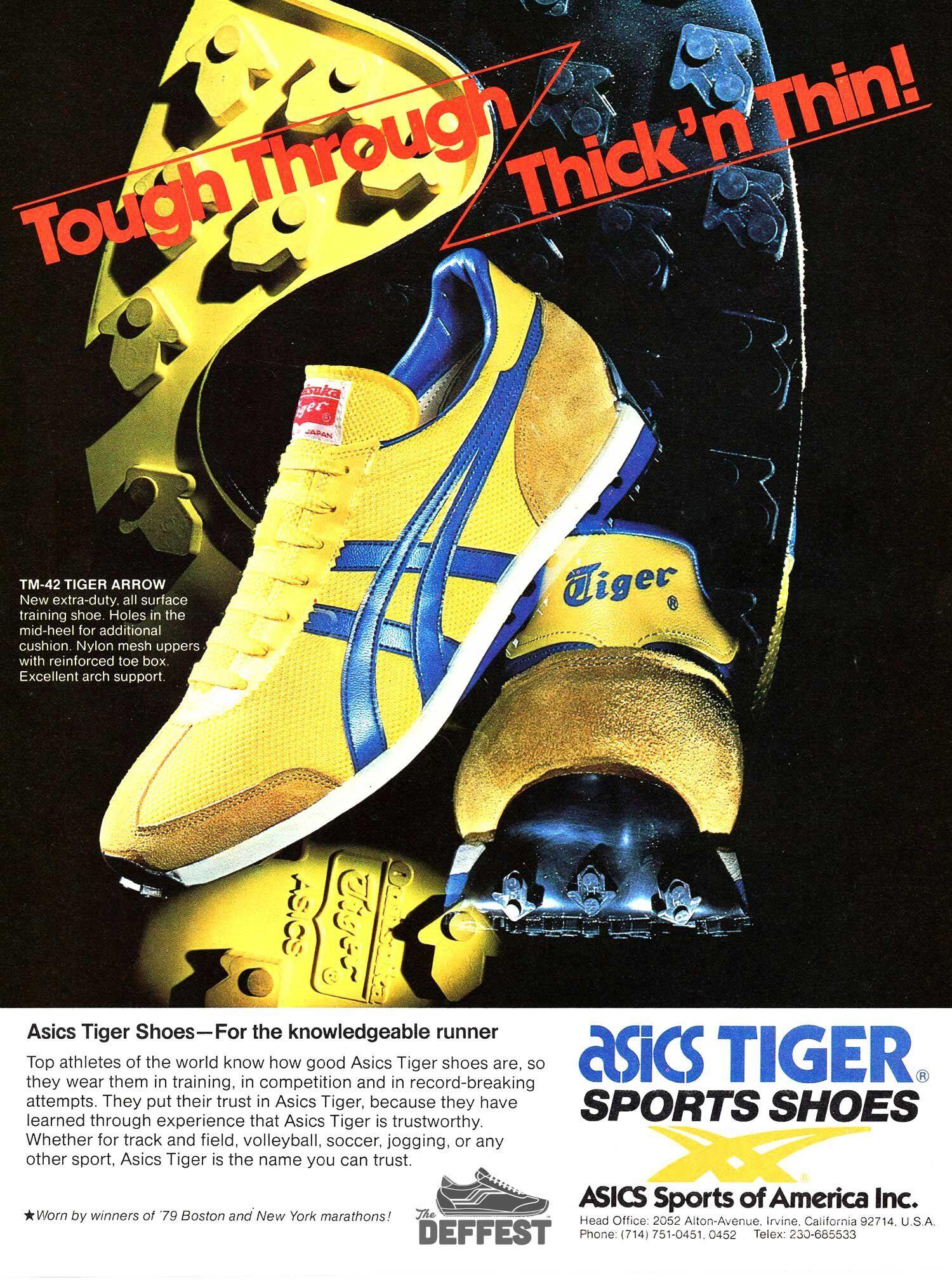 Asics Onitsuka Tiger TM-42 Arrow 1980