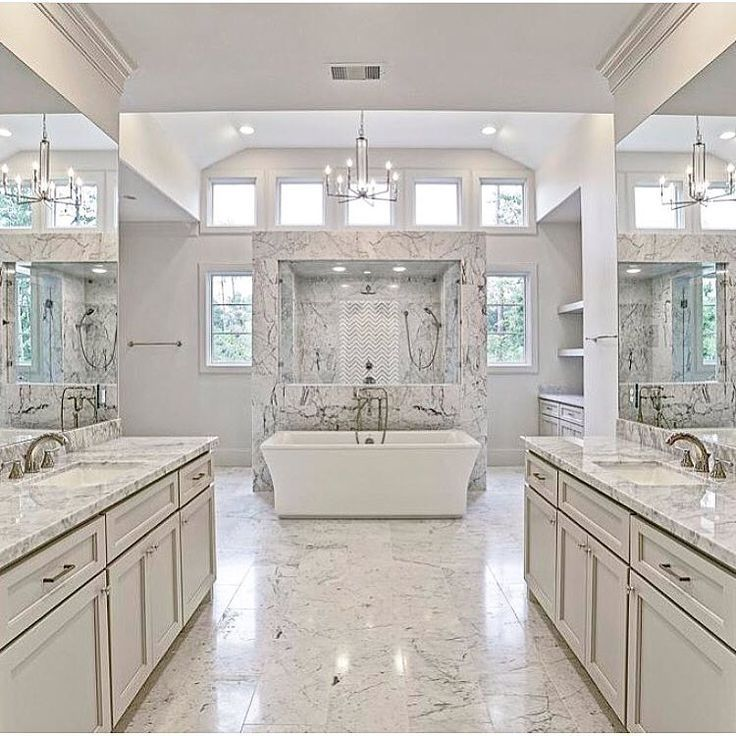 Dream Bathroom With Large Open Space And Natural Light