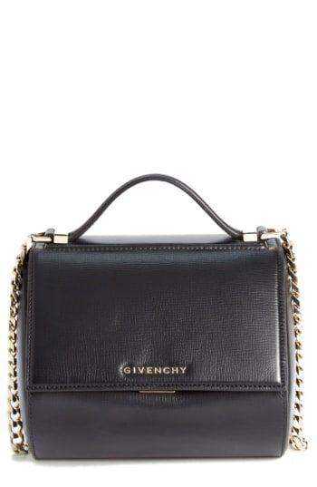 3326f868cc3 Reduce Givenchy 'Mini Pandora Box - Palma' Leather Shoulder Bag ...