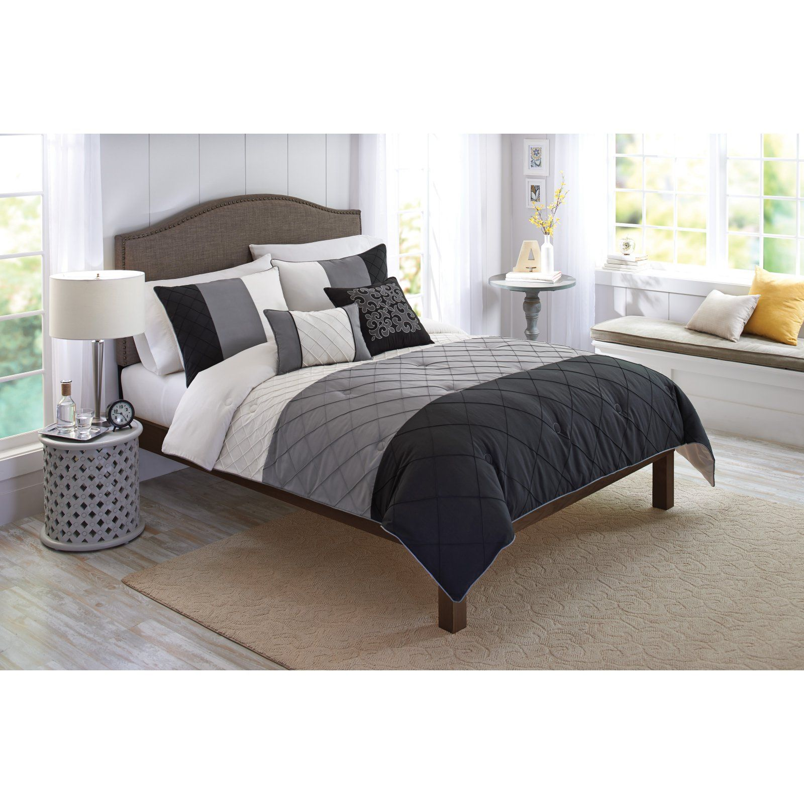 Onyx 5 Piece Comforter Set By Better Homes Gardens Comforter