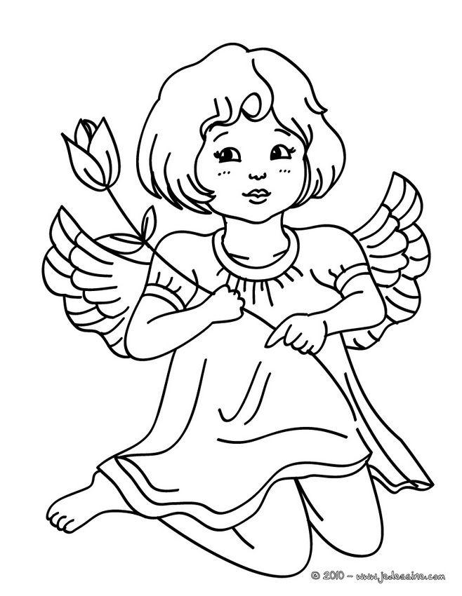 Рисунок ангелы для детей, открытка днем рождения