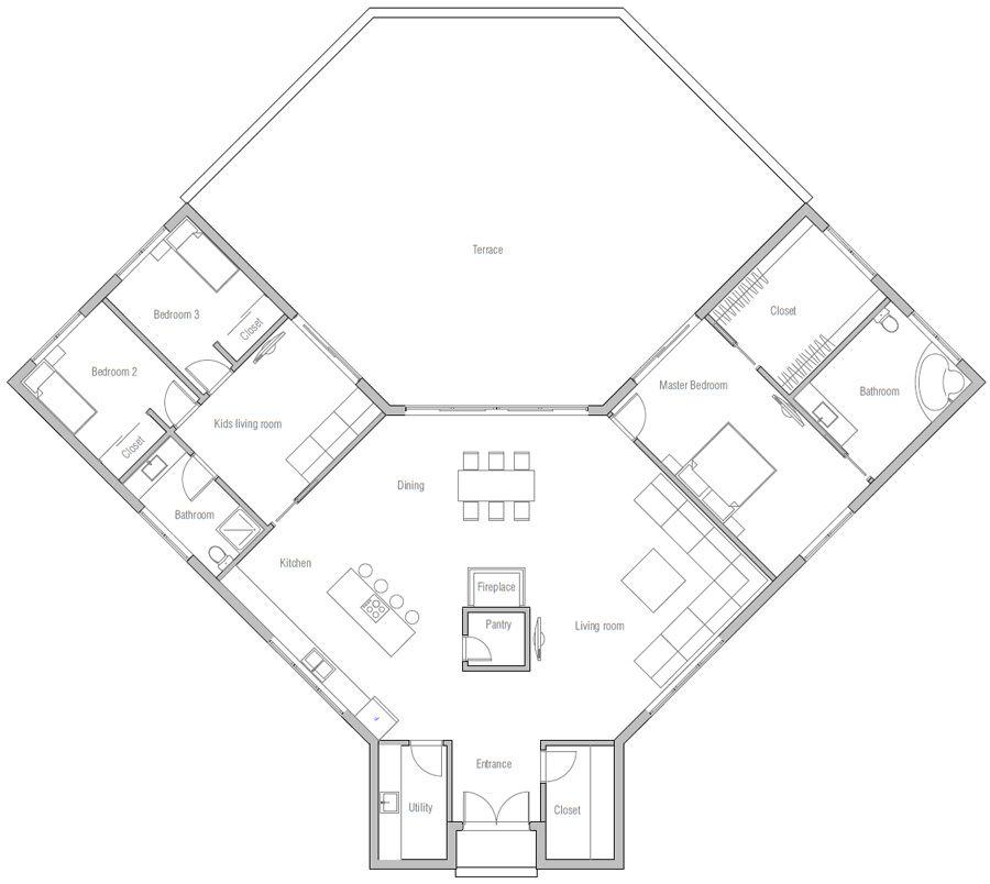 House Plan CH381