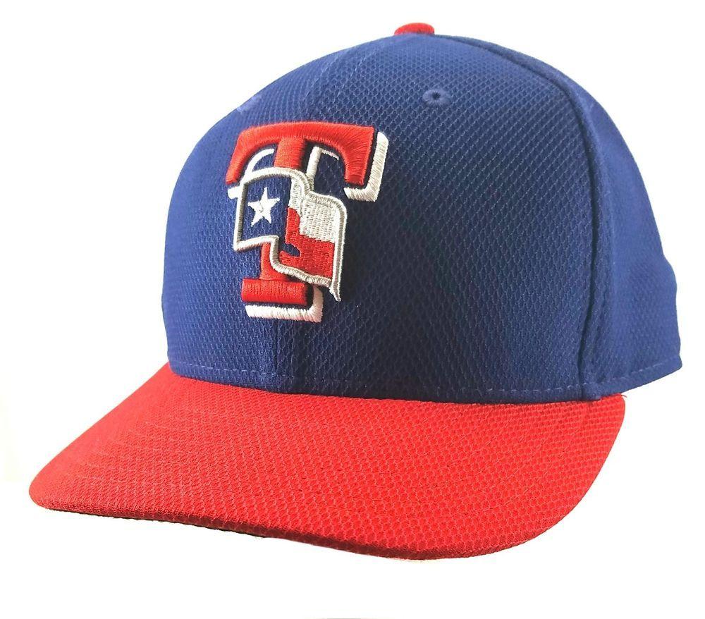 ... new zealand authentic mlb texas rangers hat new era fitted adult size 7  1 8 baseball e72ab2384bdf