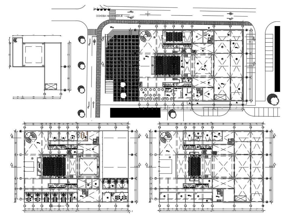 Multiplex Cinema Floor Plan Floor Plans How To Plan Cinema