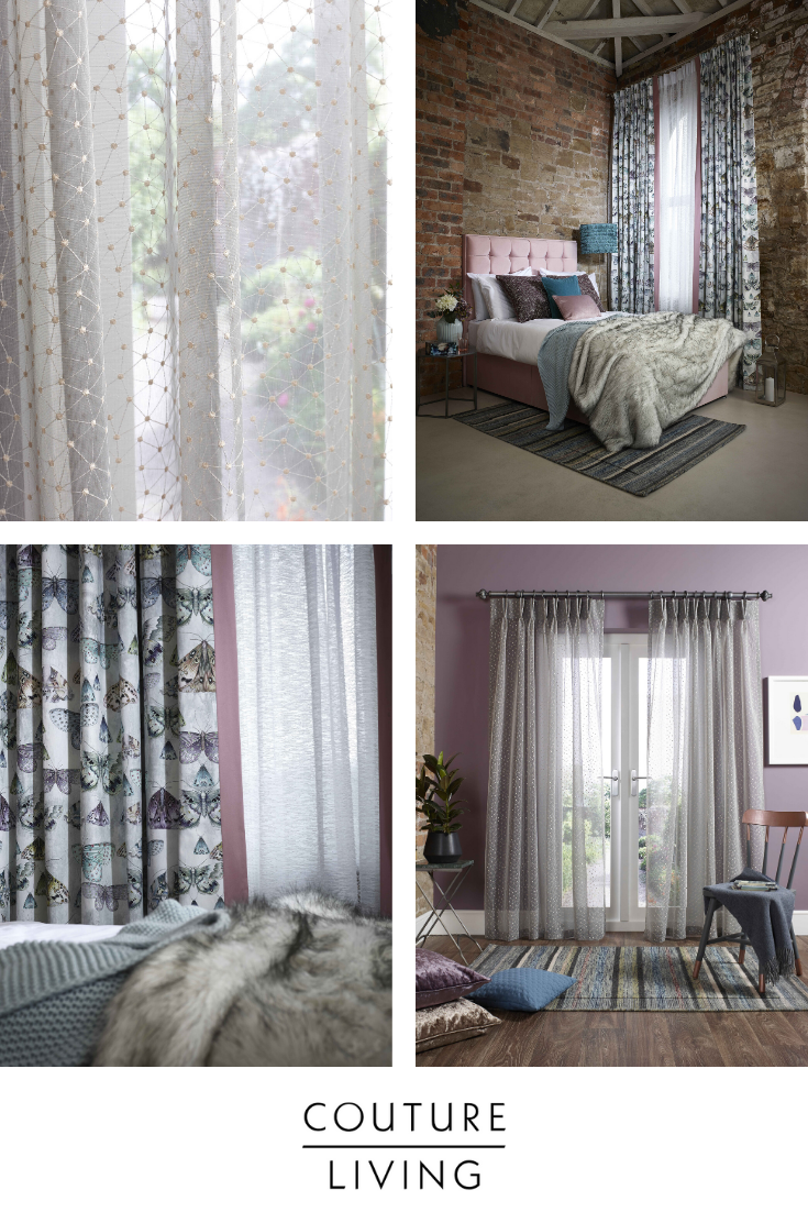 Goodbye Traditional Net Curtains Hello Sheer Browse Our Collection Of Voile And Sheer Fabrics For Made To Me In 2020 Made To Measure Curtains Curtains Voile Curtains