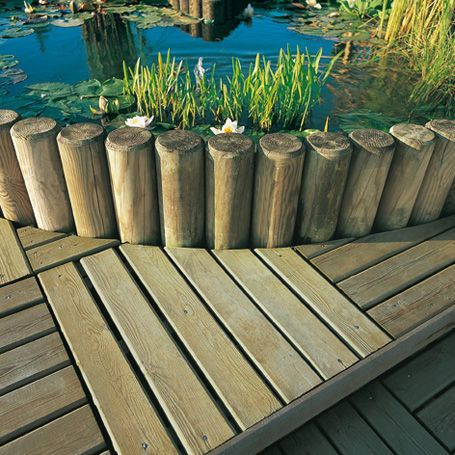Bordure De Jardin Silverwood Bordures De Jardin Wooden