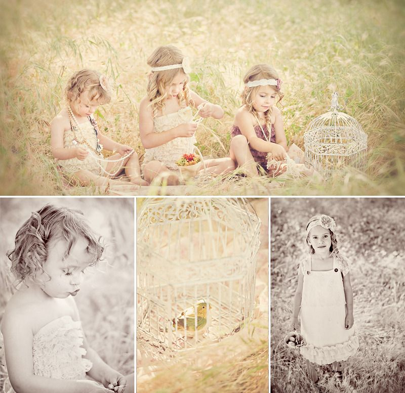 I never have thought of putting lace petti rompers on older gals but it looks cute here! www.babylacerompers.com